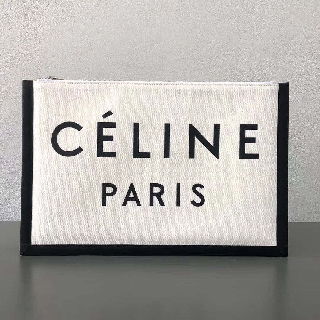 60799a23c8 Celine Made in Large Clutch Pouch 100% Authentic