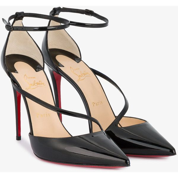 2d26c9061163 Christian Louboutin Fliketta 100 pumps (10.302.150 IDR) ❤ liked on Polyvore  featuring shoes