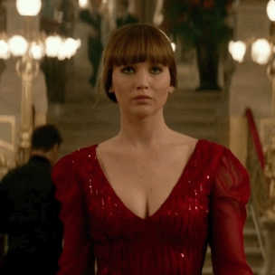 #ValentinesDay ready. Red Sparrow is in theaters March 2 ...