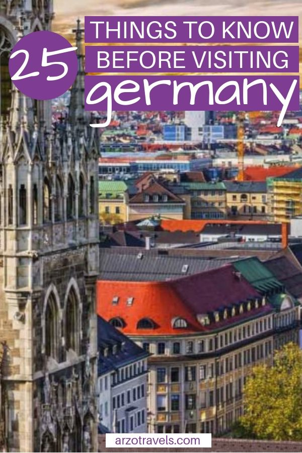 Germany Travel Tips: Things to Know When Traveling to Germany #holidaytrip