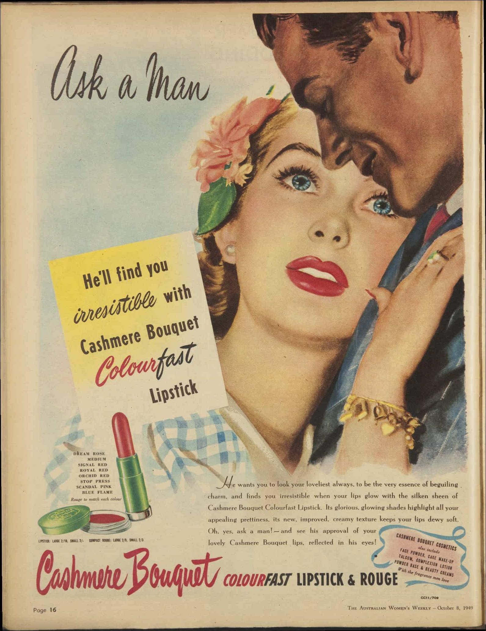 Issue 8 Oct 1949 The Australian Women S Week Vintage Advertisements Retro Advertising Australian Vintage