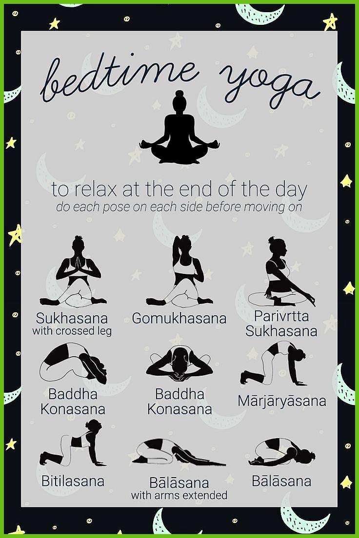 Beenden Sie Ihren Tag mit dieser entspannenden Yoga-Sequenz, um Sie auf den Schlaf vorzubereiten. Re...