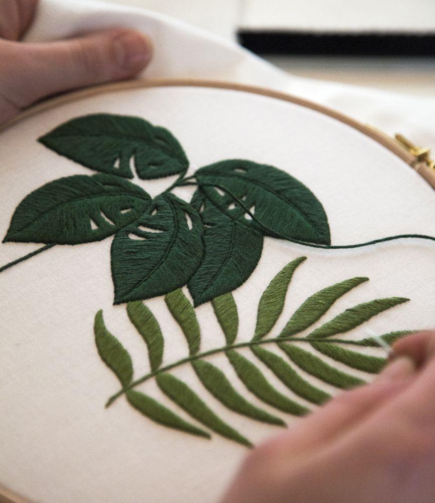Ma couleur de fil Mouliné DMC préférée ? La couleur 319 : c'est le « vert forêt » le plus parfait !