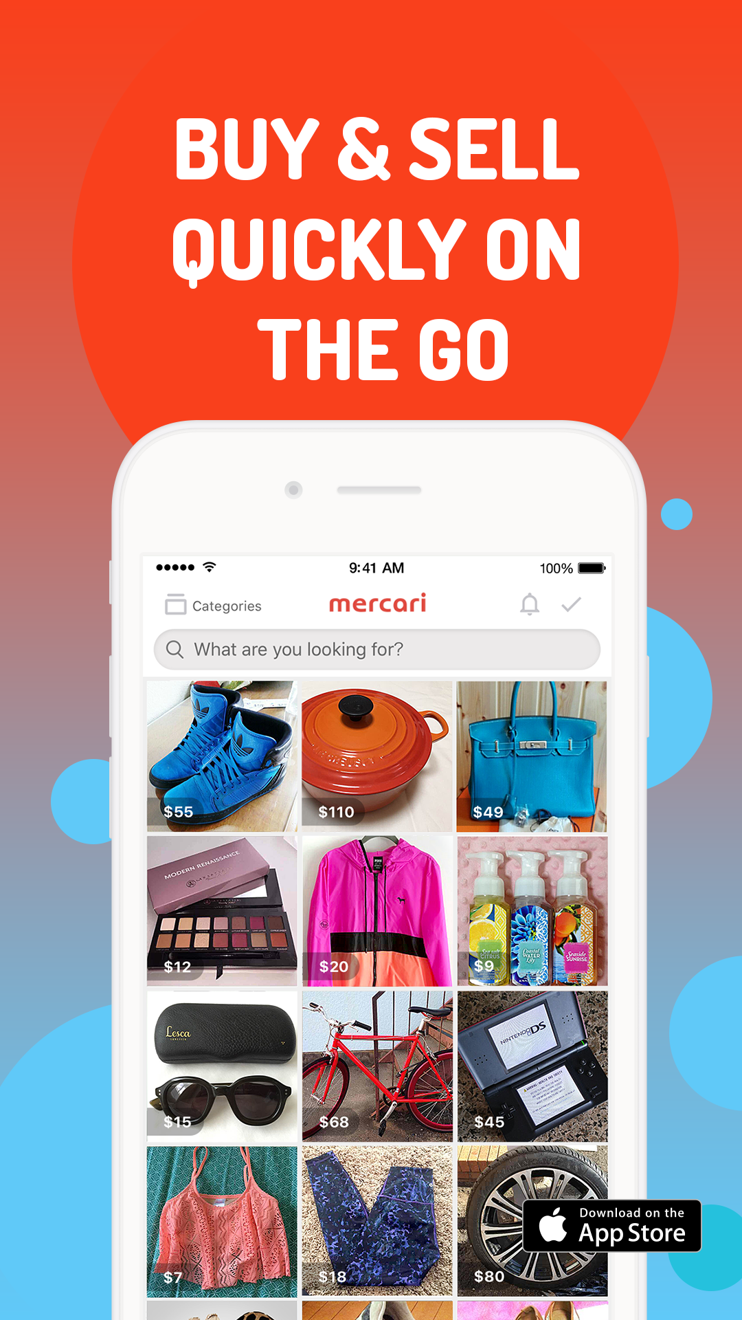 Buying & Selling has Never Been So Easy! Get the Mercari