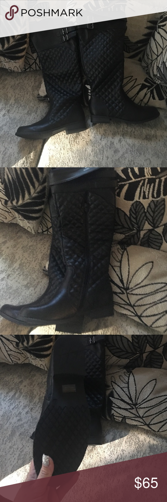 Woman's riding boots New size 9 Shoes Over the Knee Boots