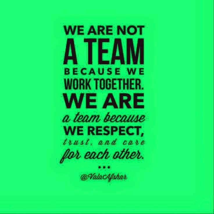 Love my team. Best teamwork quotes, Inspirational