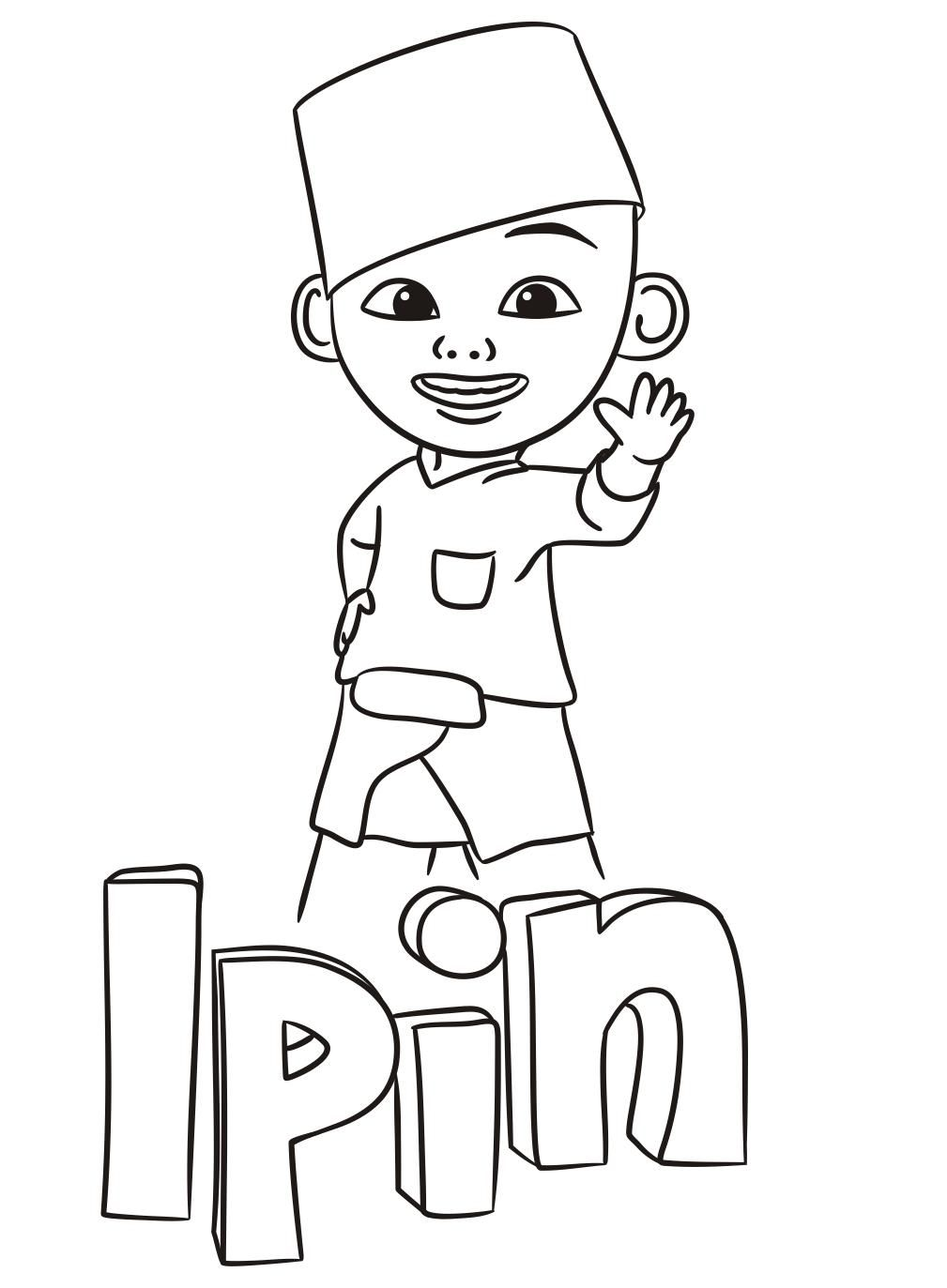 Printable Coloring Upin Ipin Printable Coloring Pages Coloring