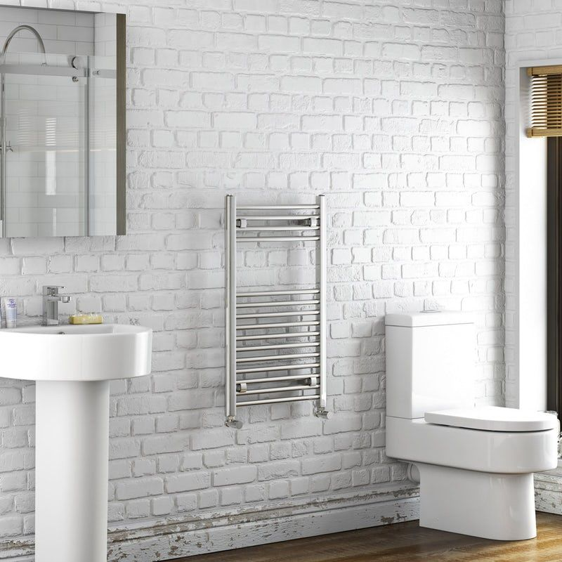 The Heating Co Eden Heated Towel Rail In 2019 Towel Rail