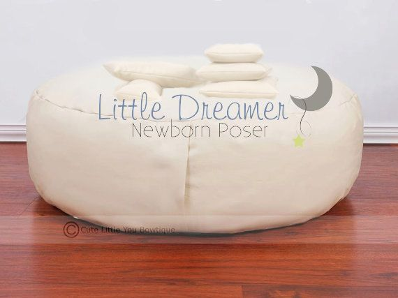 Studio Newborn Poser Bean Bag Posing Photography By Cutelittleyou