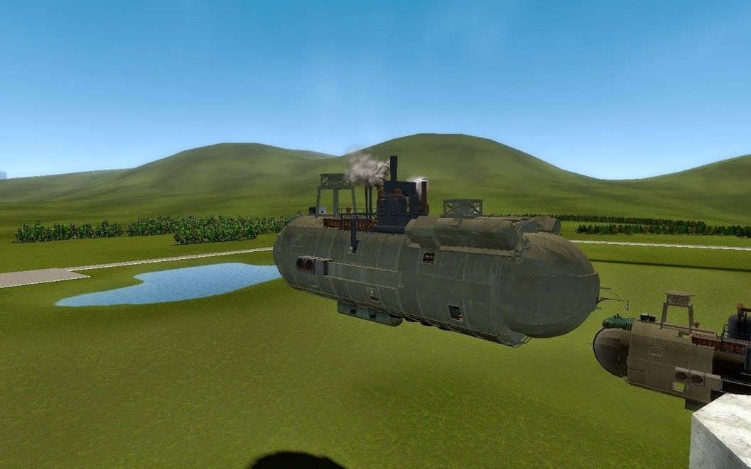 Gmod Airship, The Dreadnought airship, inspired by
