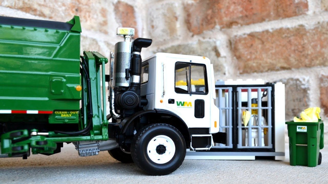 Garbage Truck Power Wheels With Images Garbage Truck Power