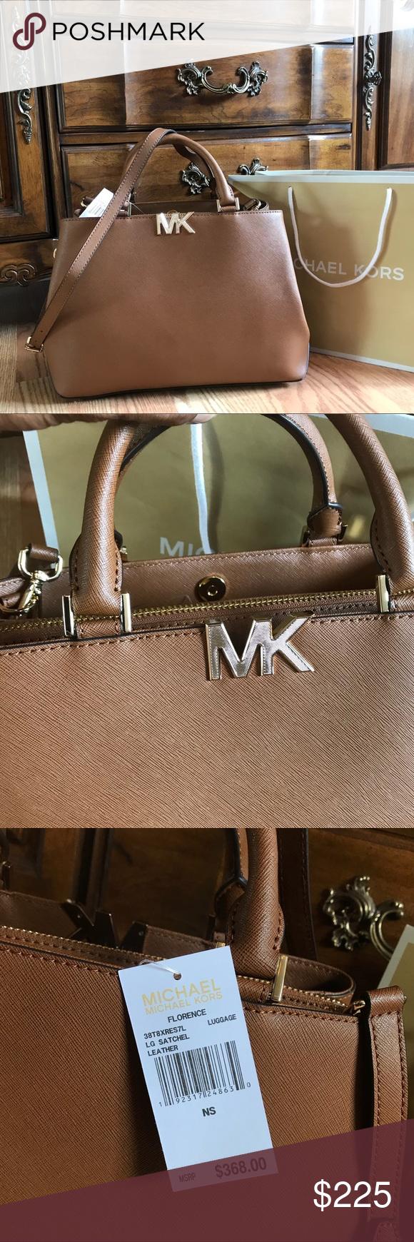 7789a12fc07a $368 Michael Kors Florence Bag MK Purse Handbag 🔥⏳ LAST 1! ⏳🔥 Guaranteed