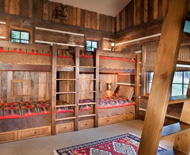 Inspired Bunk Beds With Stairs mode Other Metro Rustic ...