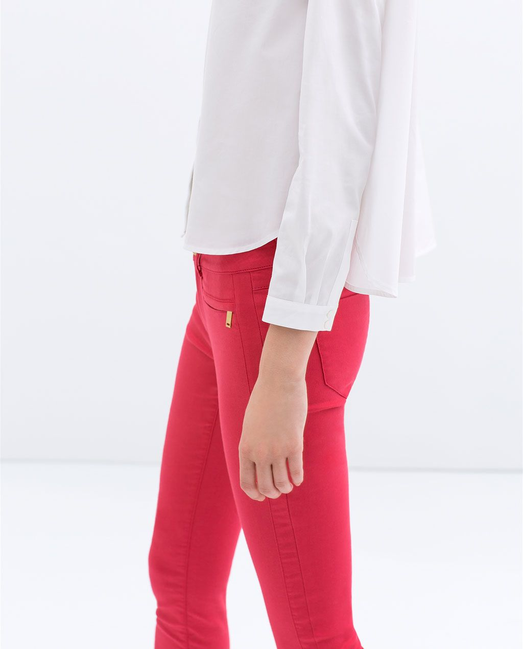 ZARA - NEW THIS WEEK - SUPERSTRETCH SKINNY TROUSERS
