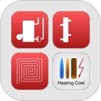 Heating Cooling Pipe Sizing Pressure Drop Floor Heating Heating Cost Calculators By Sebastjan Valic Iphone Apps
