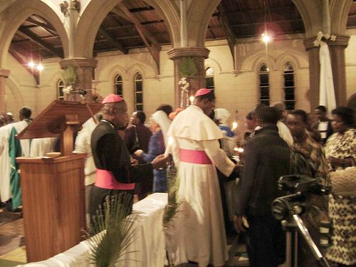 Inside Bulawayo Cathedral