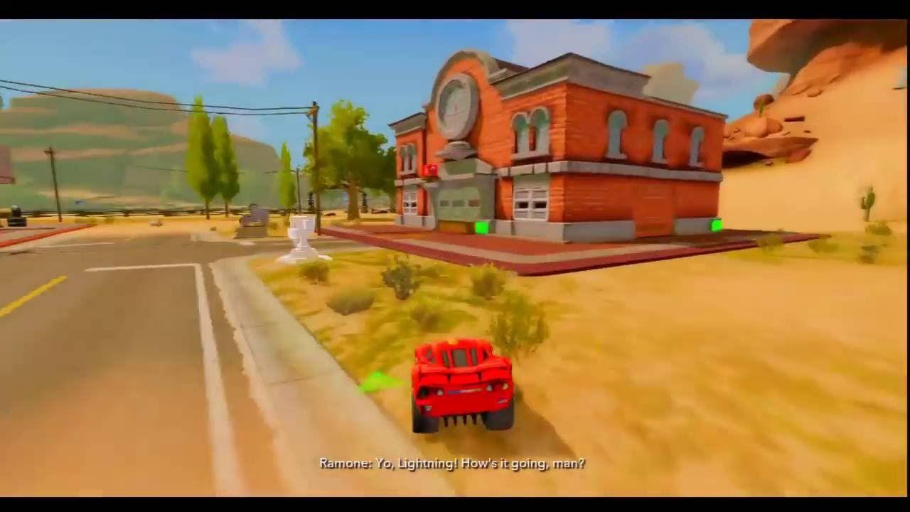MCQUEEN HELP find FLO`S MAILBOX / Disney Cars for Kids