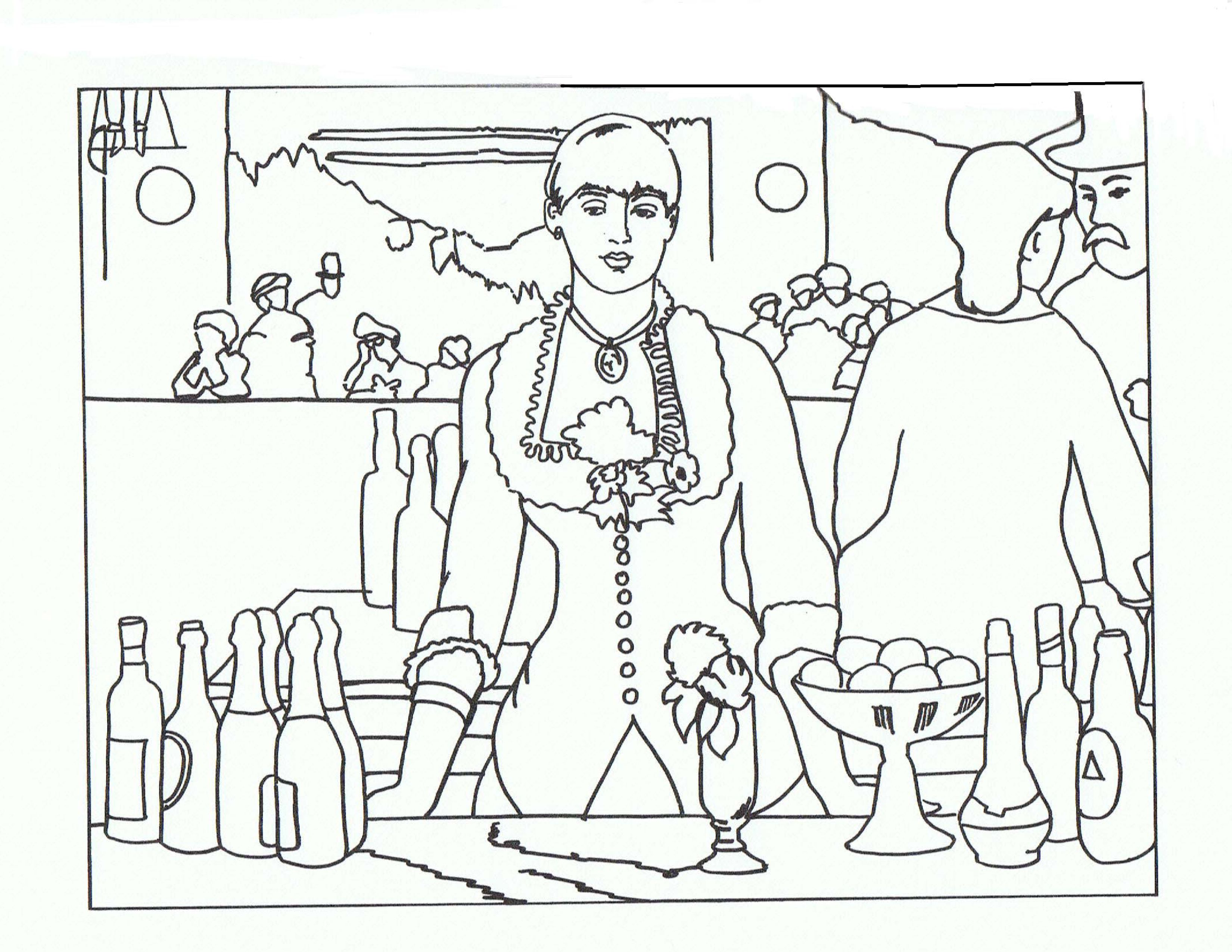 El Bar Del Flies Bergere Edouard Manet Sanat Projeleri Cizim Sanat