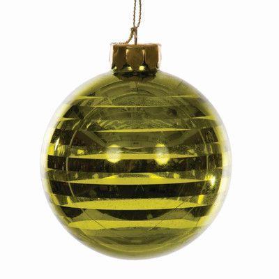 Sage & Co. Santa's Workshop Glass Hanging Ornament (Set of 6)