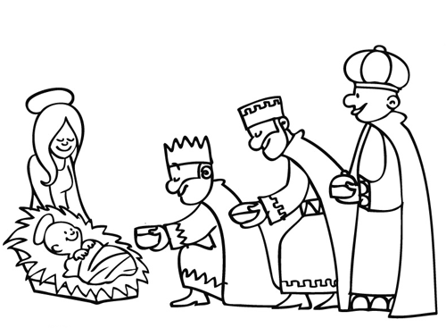 Three Wise Men Coloring Page | Coloring pages, Three wise ...