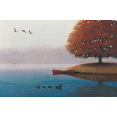 Early in the Morning Canvas Art - James Wiens (12 x 18)