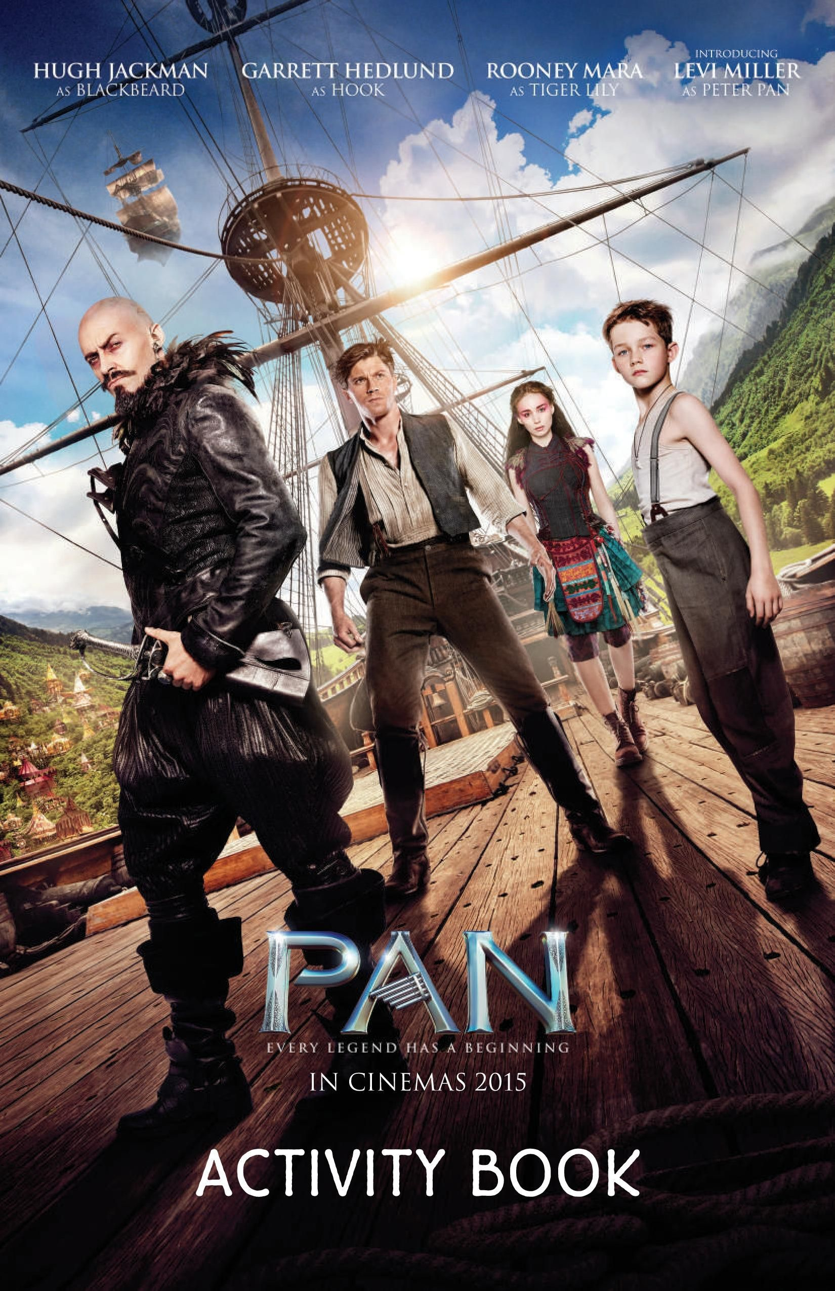 Free Printable Pan Activity Book Including Cross Words Word Searches Mazes Drawing Tutorials And More Peter Pan Movie Good Movies Movies