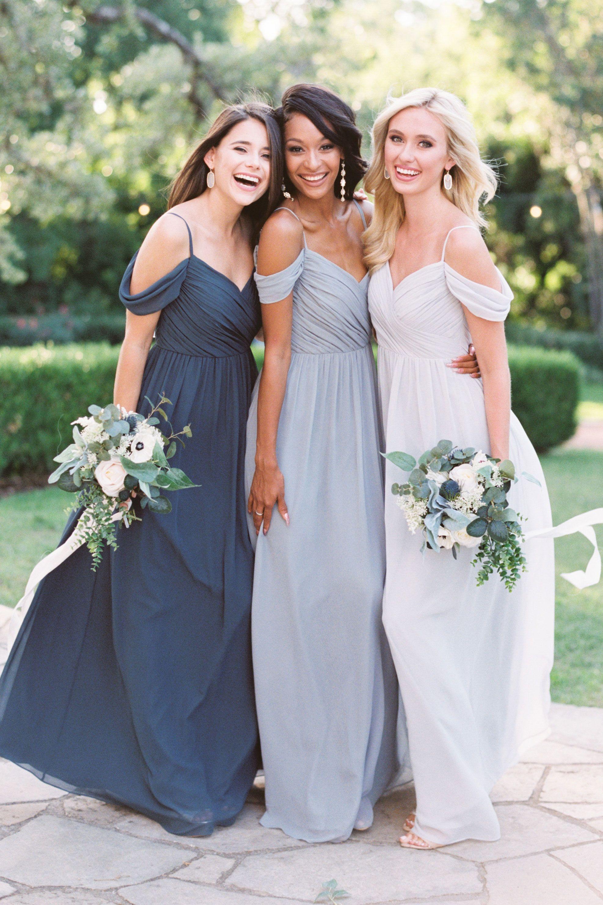 Lily Chiffon Dress Wedding Bridesmaid Dresses Bridesmaid