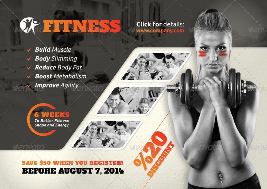 Fitness Salon Flyer Templates #Affiliate #Salon, #affiliate, #Fitness, #Templates, #Flyer