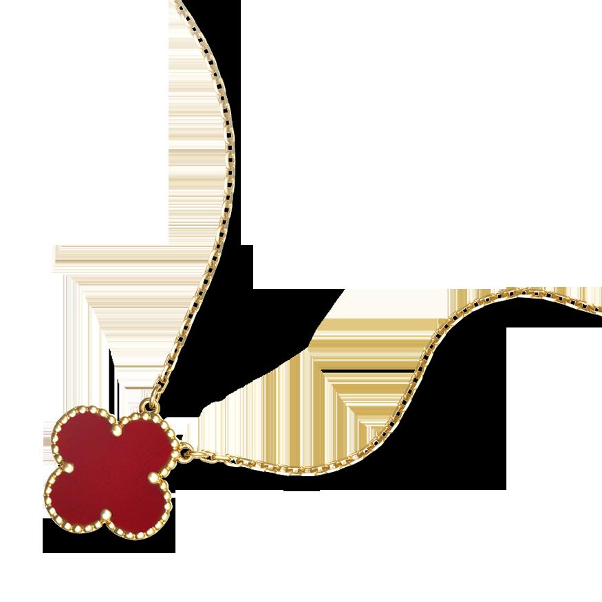 Van Cleef \u0026 Arpels , Vintage Alhambra pendant