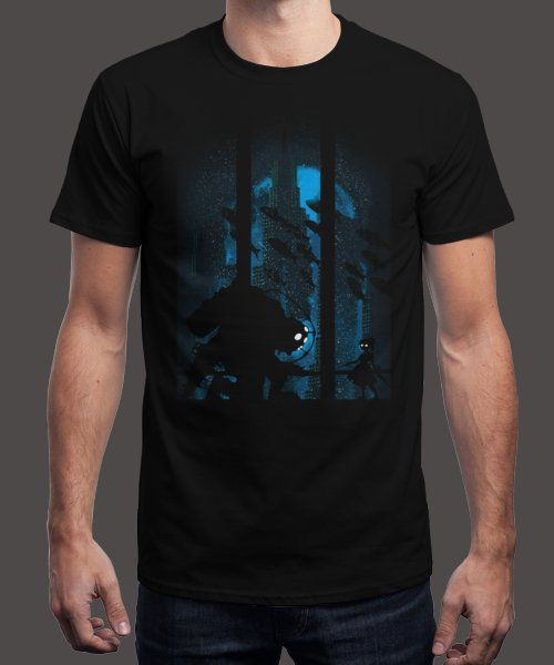 """""""Under the depths"""" is today's £9/€11/$12 tee for 24 hours only on Pin this… 