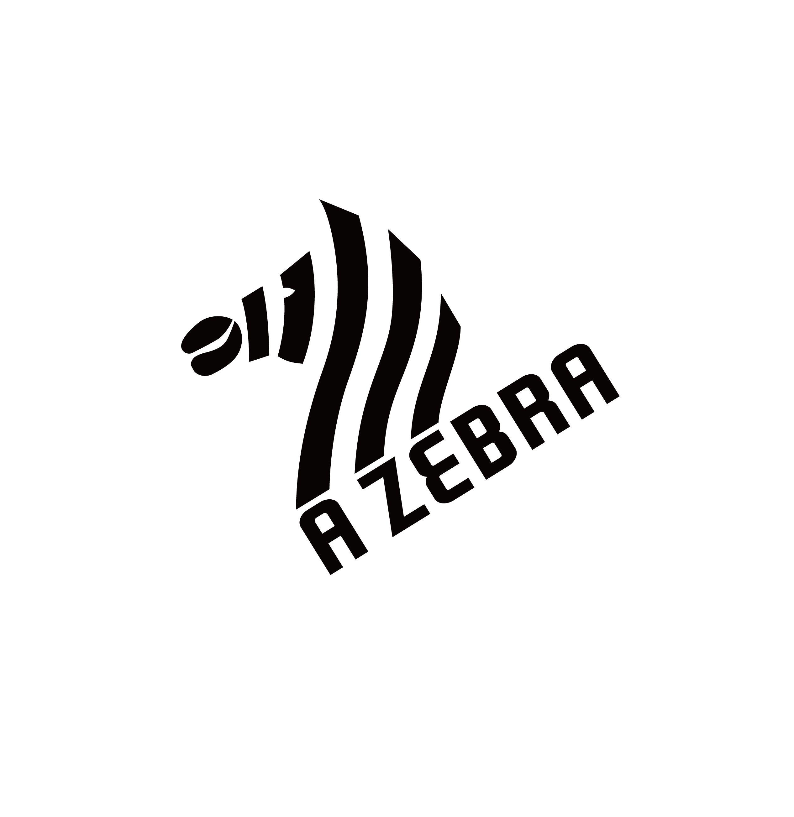 my work zebra coffee logo design pinterest logos