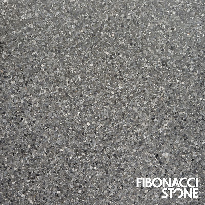 Fibonacci Stones Lustre Terrazzos Unique And Gentle Sheen Is Thanks To A Mix Of Aggregates Terrazzo TileCommercial FlooringWarm GreyFront