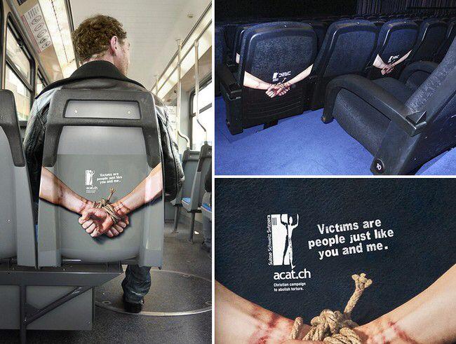 Vítimas de tortura são pessoas como você e eu
