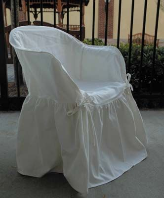 The Ty Outdoor Patio Resin Chair Slipcover Slipcovers Washable
