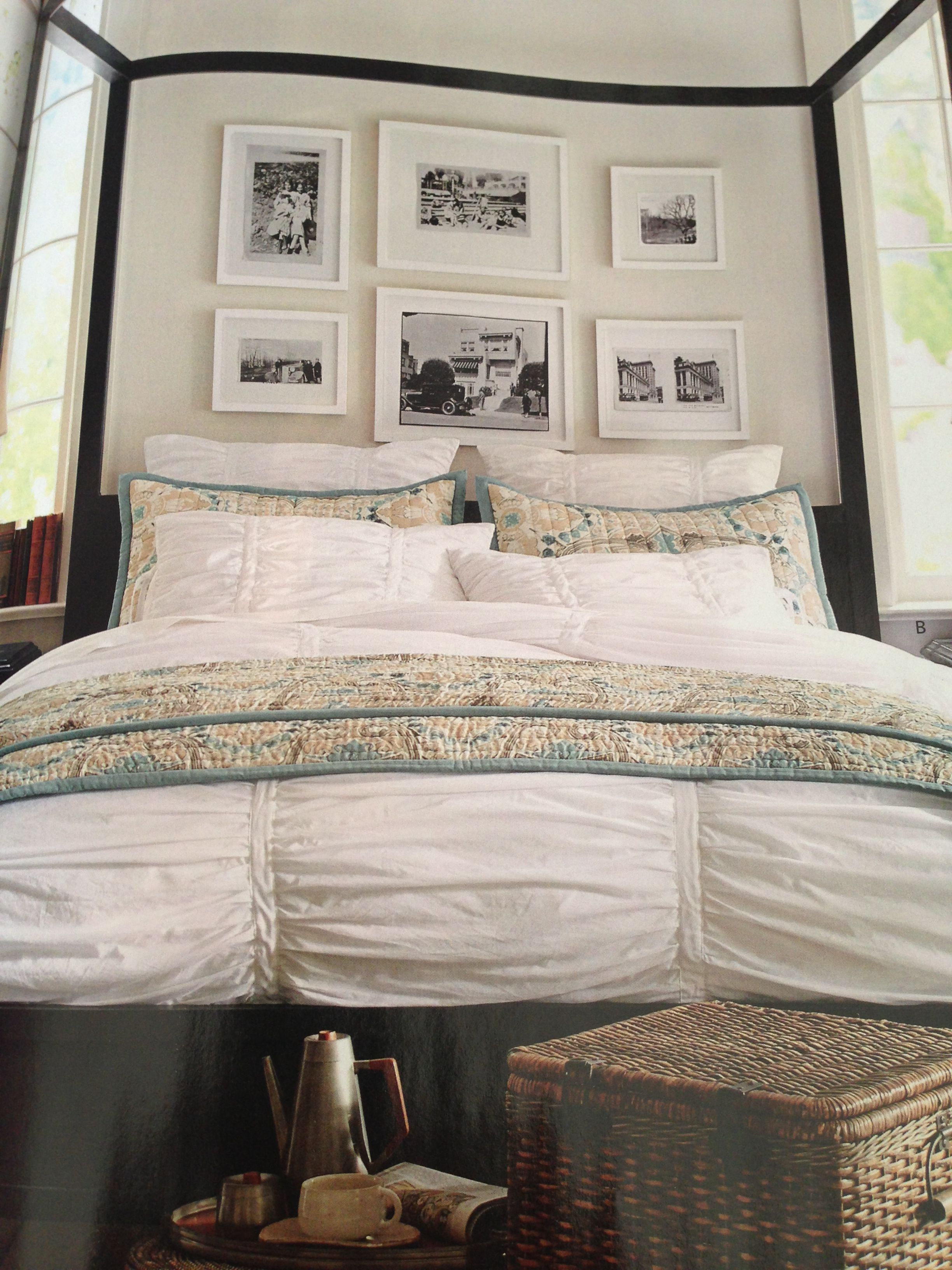 Pottery Barn Bedroom Curtains Hadley Ruched Bedding Pottery Barn Finally Time For New