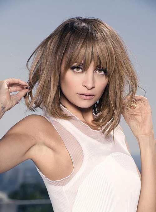 10 Nicole Richie Bob Haircuts Bob Haircut And Hairstyle Ideas Nicole Richie Hair Hair Styles Bob Hairstyles