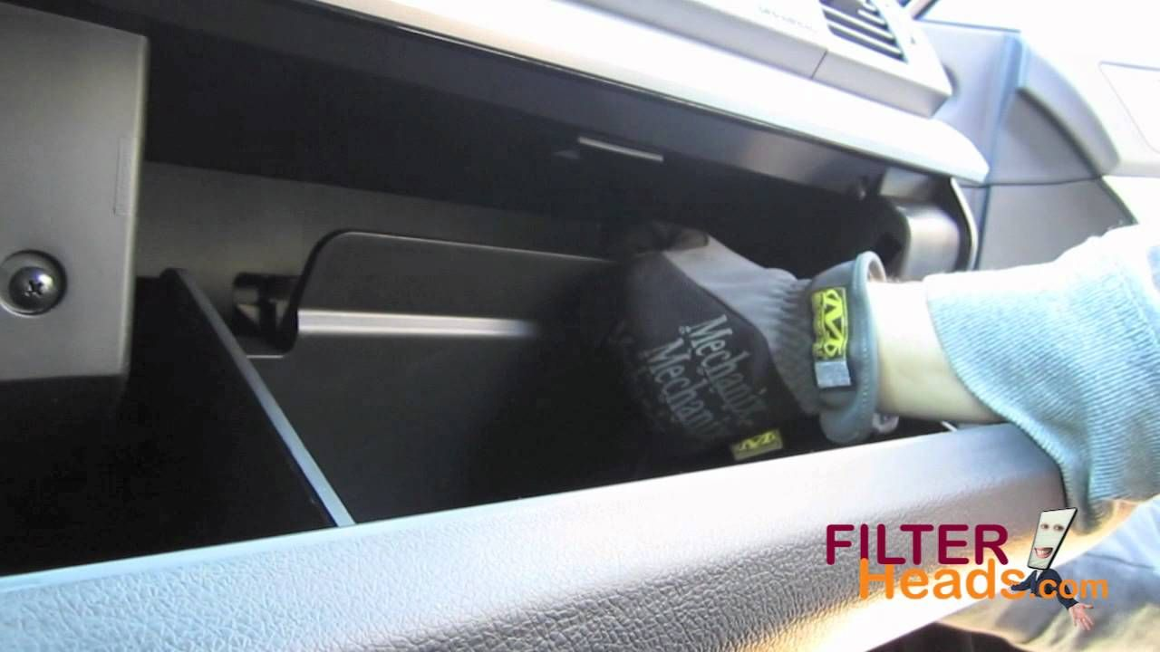 Cabin air filter replacement- Subaru Outback