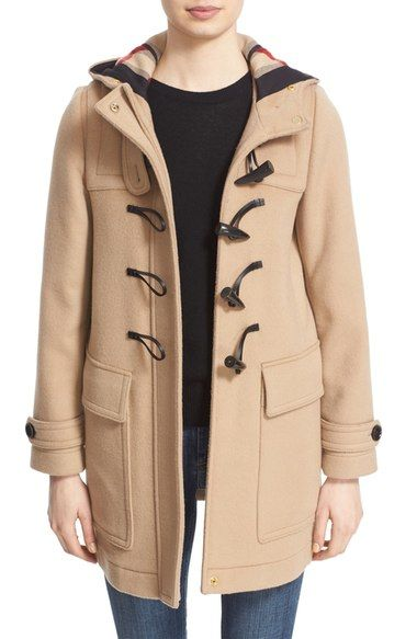 9c755d1cfa093 BURBERRY  Baysbrookehrt  Wool Duffle Coat.  burberry  cloth
