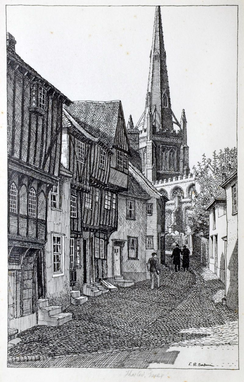 THAXTED by STANLEY ROY BADMIN   Drawing arquitecture   Pinterest ...