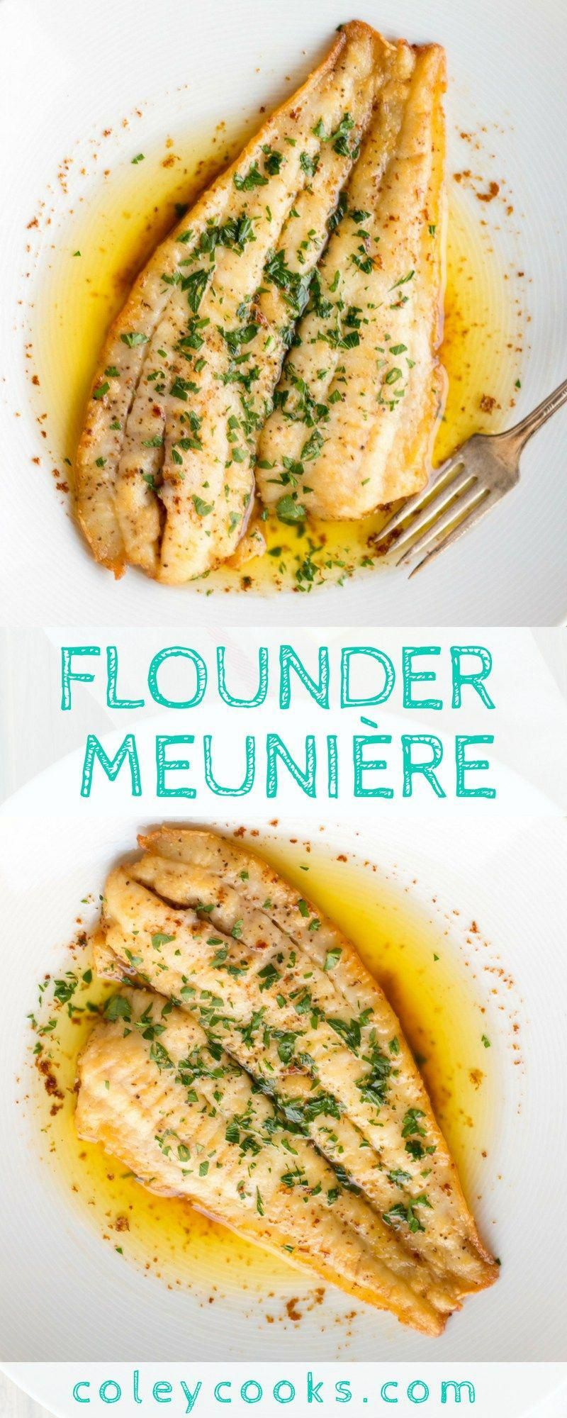 Photo of Flounder Meunière (Video!) | Coley Cooks…