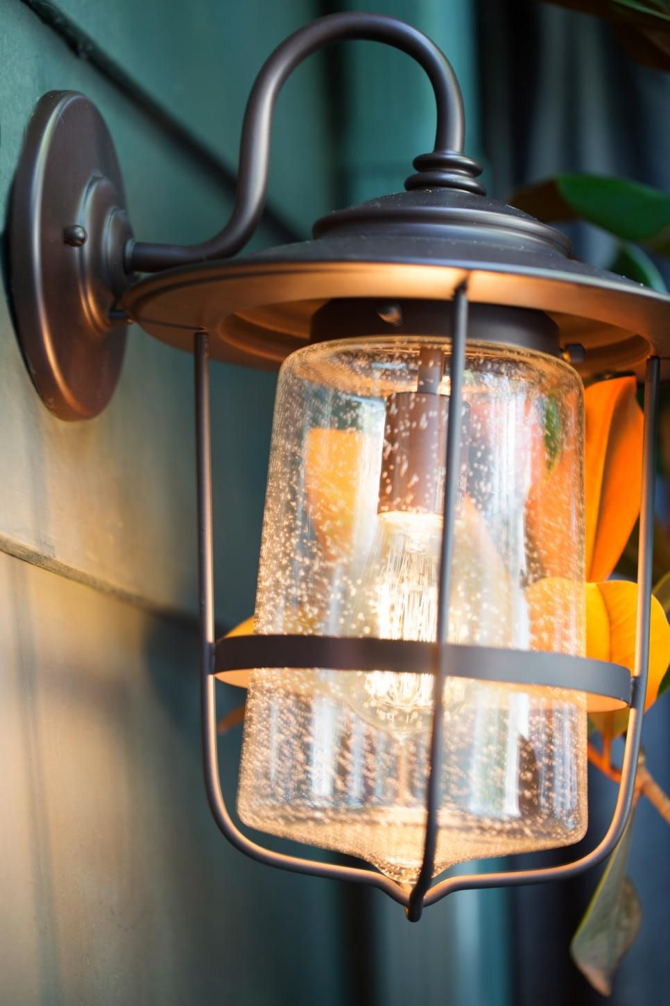 Add Ambience With Edison Bulbs Porch Lighting Porch Light Bulb Front Porch Lighting
