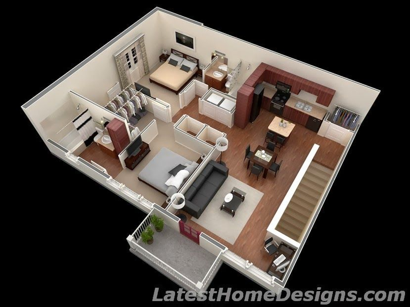 Small house plans under 700 square feet also house plans for Interior design 800 sq ft