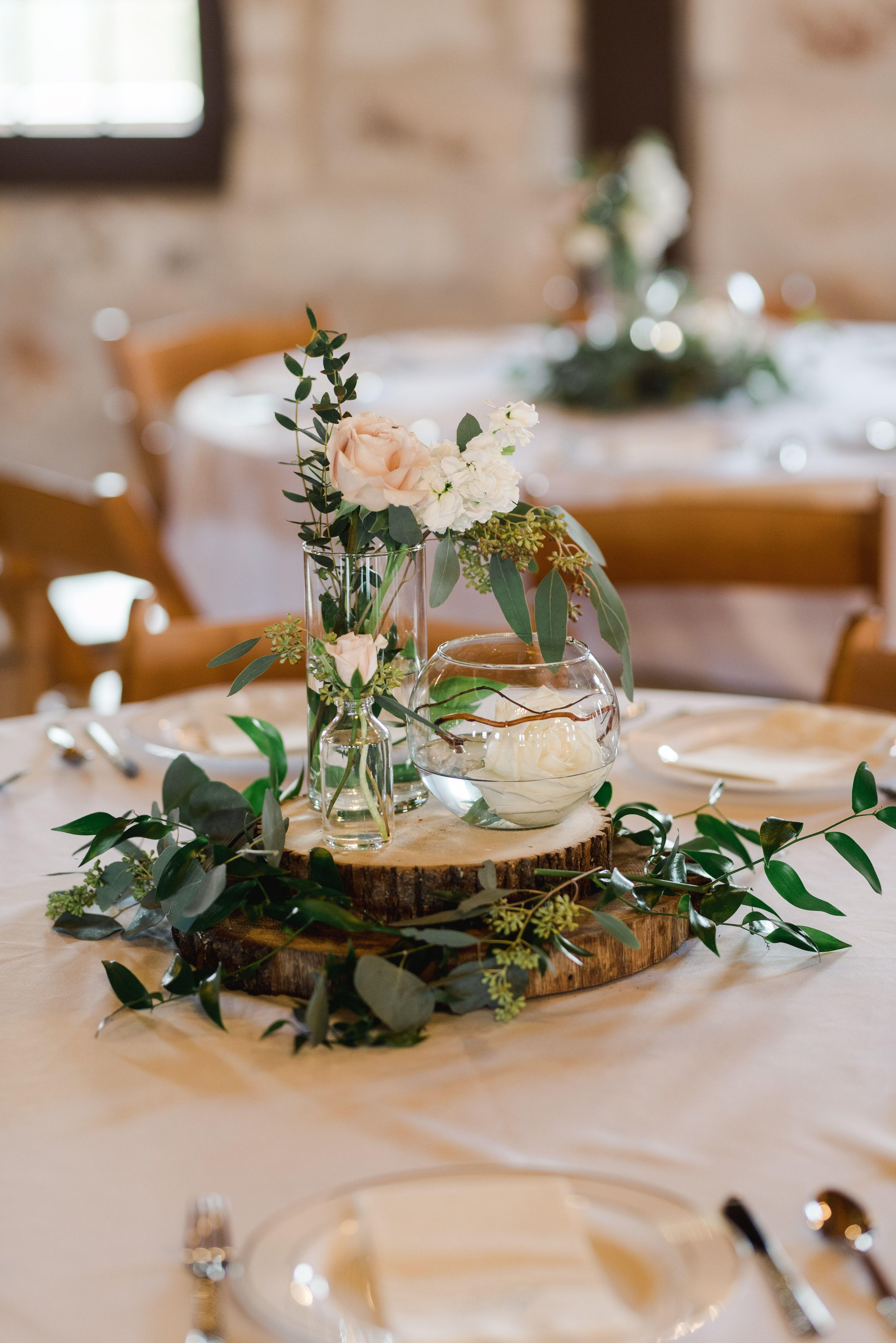 | boho chic wedding centerpiece | modern rustic wedding ...