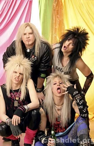 Pin by Рысь ЮЮ on Crashdiet in 2019   Hair metal bands, Glam