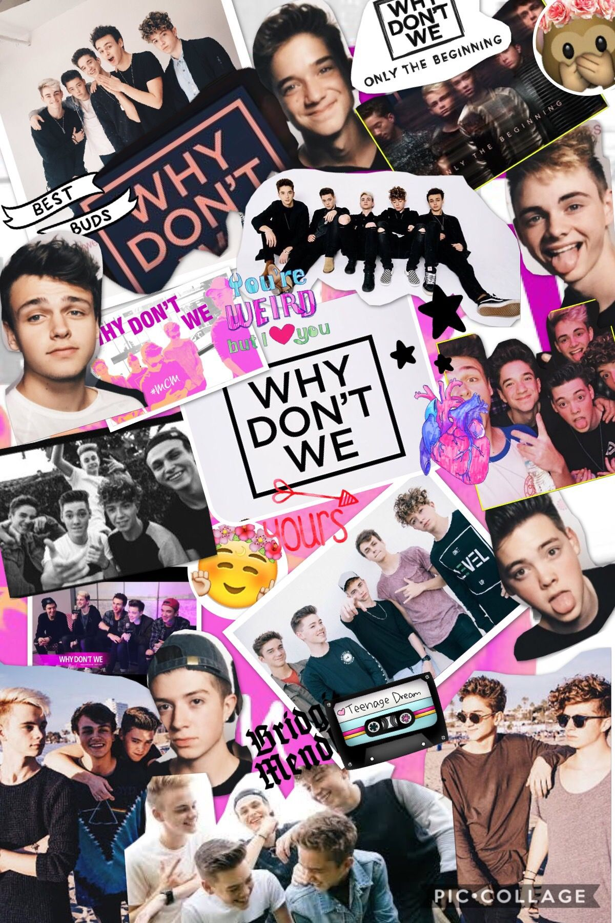 Why Don T We Band Wallpaper Band Wallpapers Why Dont We Band Wdw