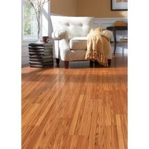 Trafficmaster Glenwood Oak 7 Mm Thick X 7 3 4 In Wide X 50 5 8 In Length Laminate