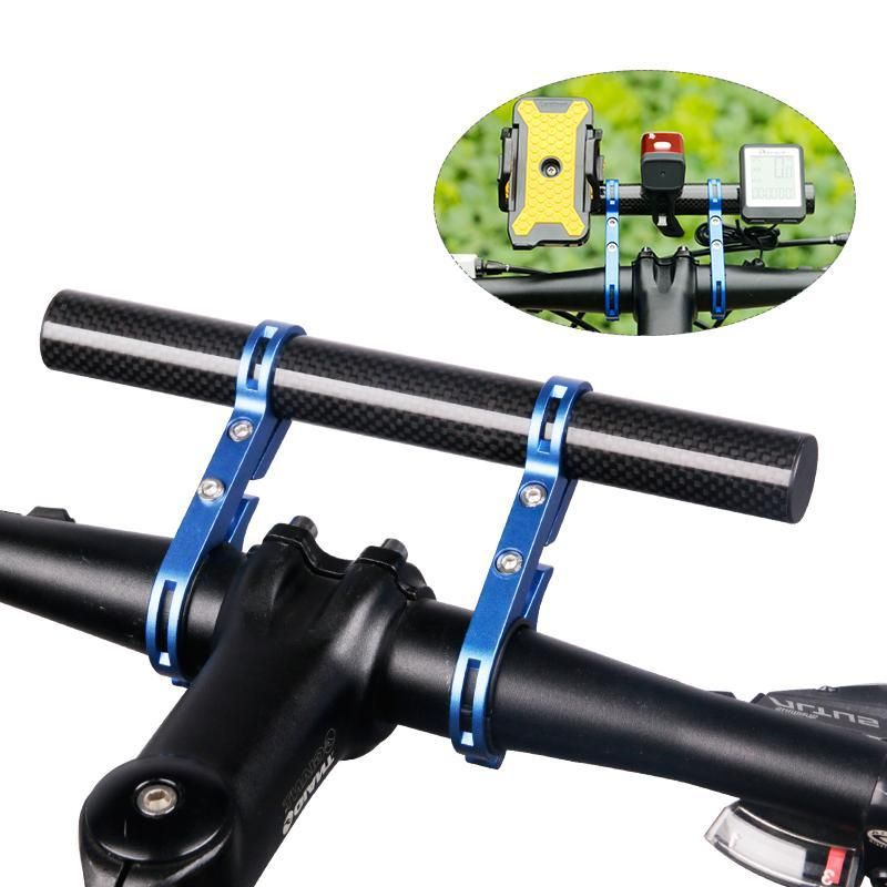Run Busy Bicycle Handlebar Extended Bracket Headlight Computer