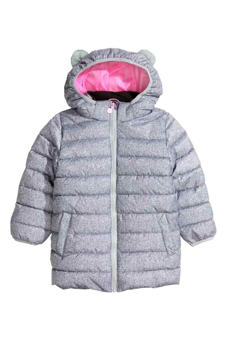Zimowy Plaszczyk Uszka H M R 128 I 134 5615339821 Oficjalne Archiwum Allegro Winter Coat Winter Jackets Fashion Online