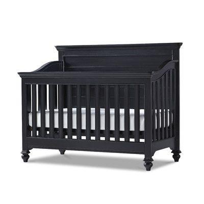 SmartStuff Furniture Black & White 3-in-1 Convertible Crib & Reviews ...