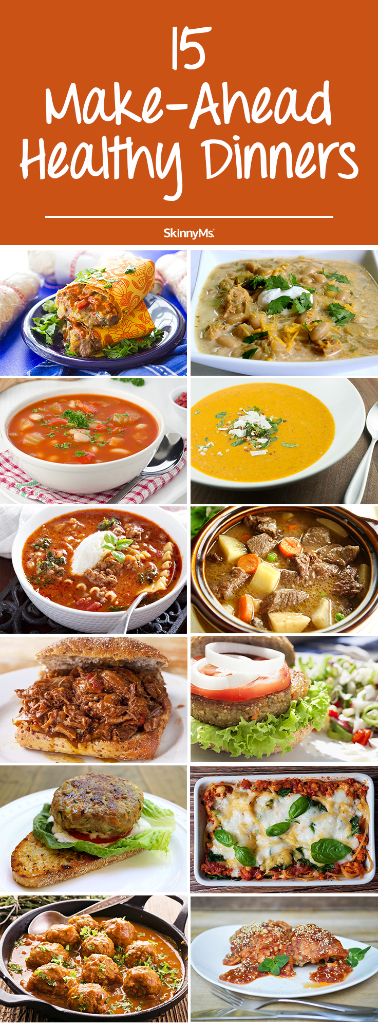 15 Make-Ahead Healthy Dinners images
